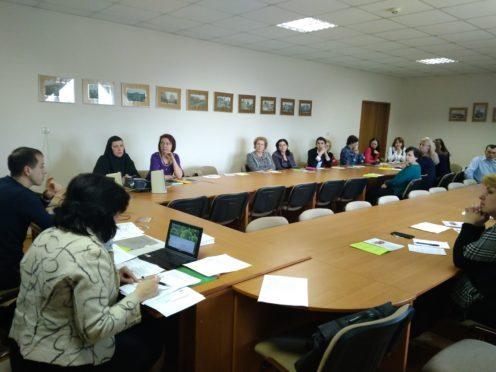 Семінар-тренінг для вчителів у с. Лапаївка