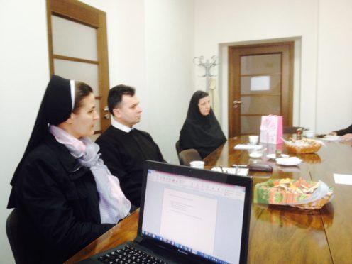 Засідання голів єпархіальних комісій