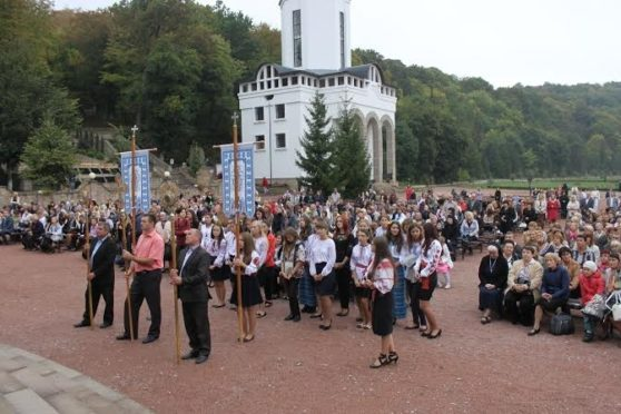 Всеукраїнська проща освітян зібрала близько 3000 паломників