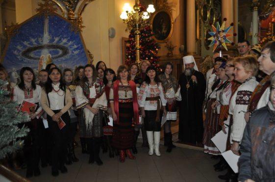 """В Архикатедральному Соборі святого Юра відбулася Різдвяна академія """"Коляда у Митрополита"""""""