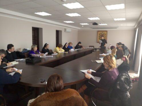 На зустрічі директорів обговорювали завдання, які стоять перед католицькою освітою