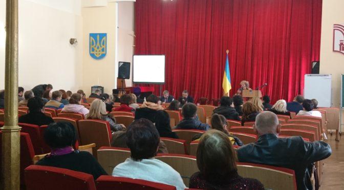 Голова Комісії УГКЦ у справах освіти та виховання взяла участь у виїзному засіданні Громадської Ради при МОН України
